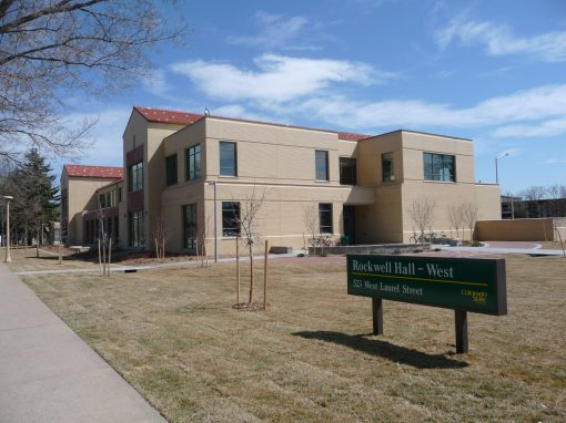 "Colorado State University – Rockwell Hall<br><span class=""linds-project-caption""></span>"